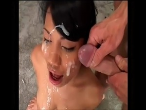 Lucy Thai Cum Covered Face