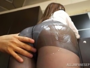 burglar fucks housewife with lube