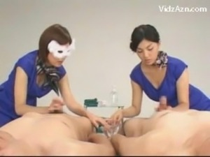Asian Girl Learning How To Give  free