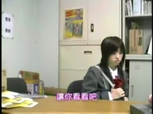 japanese shoplifted schoolgirl with