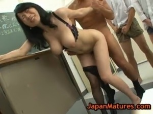 Natsumi kitahara gets fucked by four free