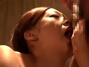 Misaki Shiraishi is a hot Japanese babe with tight pussy and burning desire