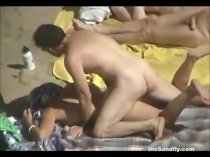 theSandfly - Public Beach Sex S  free