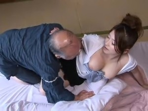 Mirai Haneda - 03 Young Wife and Old Man