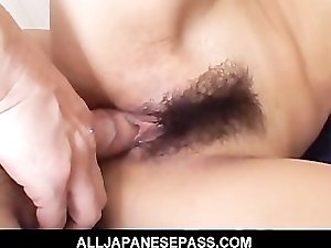 Asian cums hard during a hot threesome