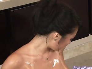 """Nuru Student Orientation"" Asa Akira girl on girl"