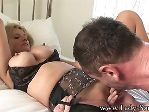 Lady Sonia pounded hard
