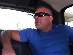 Muscly whitey sucked by black