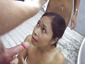 Thai facial cumshots