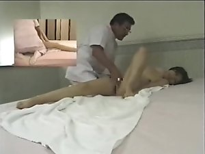 Japanese massage room - hidden cam