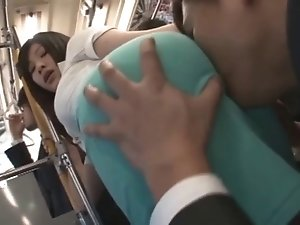 censored asian women tight skirt bus chikan p1