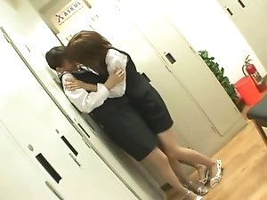 Asian Lesbians teens - japanese kissing