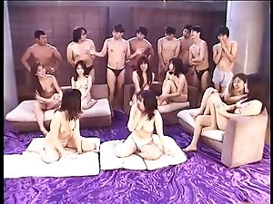 Japanese Orgy Uncensored