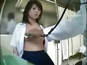 Medical exam - asian girl