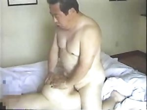 Japanese Older Man Fucks His Secretary